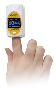 Quest Pulse Oximeter on Finger