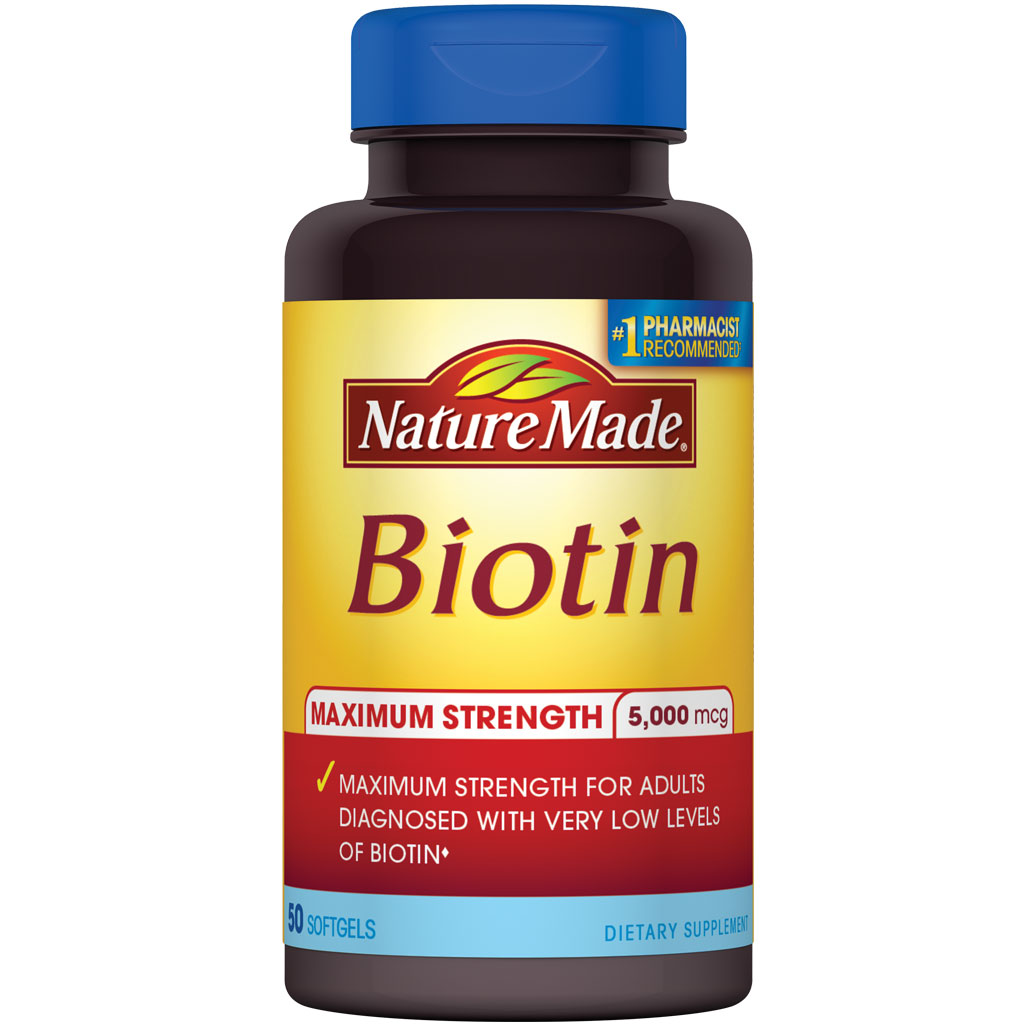 Nature Made Biotin For Hair Growth