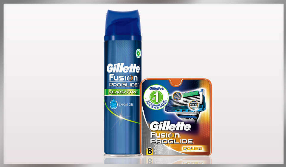 Gillette Fusion Proglide Styler 3-In-1 Men's Body Groomer With Beard