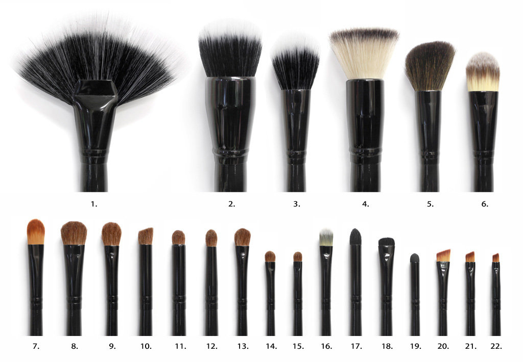 Amazon.com : Coastal Scents 22 Piece Brush Set : Makeup Brush Sets ...