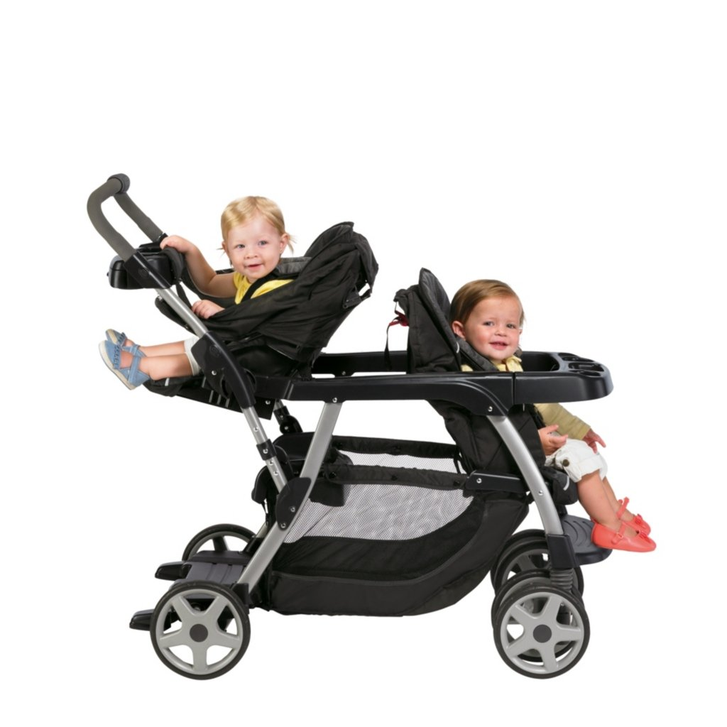 Smart And Creative Double Stroller Side By With Infant Car Seat Clasic Great Buy Graco Ready Grow Classic Connect