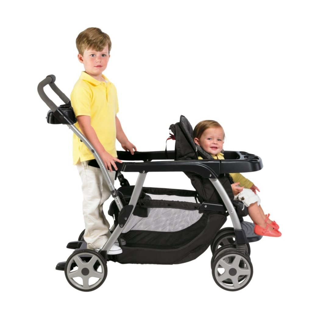 Graco Ready Grow Stroller Baby Toddler Double Stand