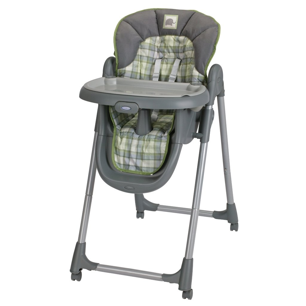 Graco's Meal Time Highchair has 4 height positions and 3 ...