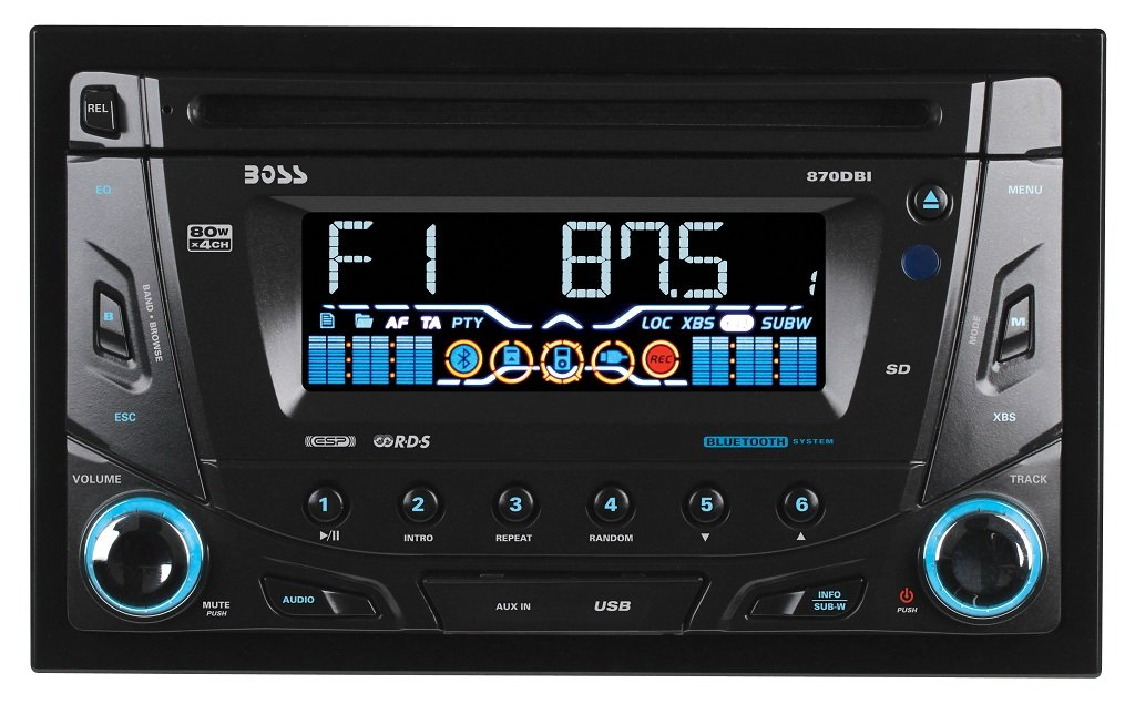 Double din super receiver