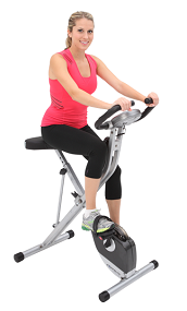 B007595TKU img1 Exerpeutic Folding Magnetic Upright Bike with Pulse