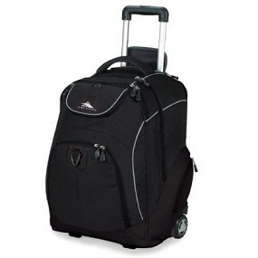 High Sierra Powerglide Wheeled Book Bag | All About Scoliosis