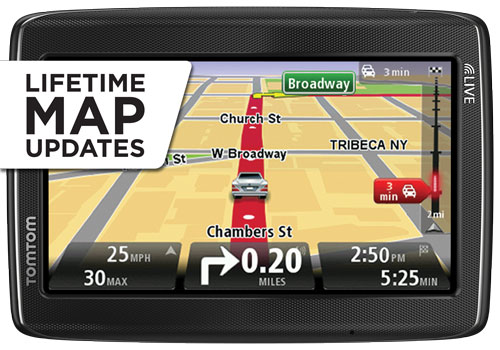 new tomtom go live 1535m car gps 5 lcd usa can mexico lifetime maps hd traffic. Black Bedroom Furniture Sets. Home Design Ideas