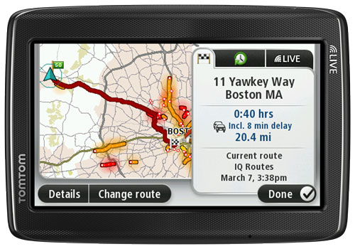 tomtom go live 1535m 5 inch bluetooth gps navigator with hd traffic lifetime maps. Black Bedroom Furniture Sets. Home Design Ideas