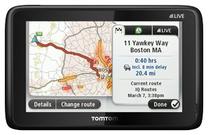 HD Traffic - TomTom GO LIVE 2535 M