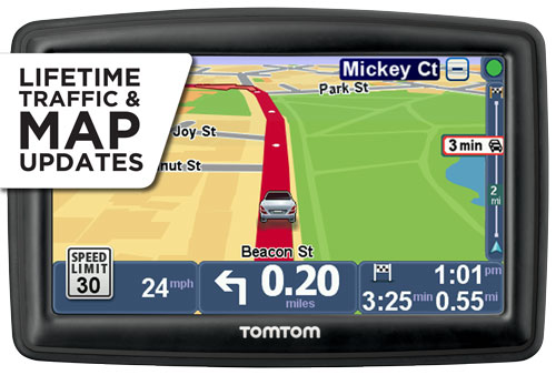 tomtom start 52 gps navigator how to get while driving