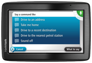 Advanced lane guidance - TomTom VIA 1535 TM