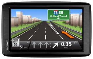 Advanced lane guidance - TomTom VIA 1605 TM