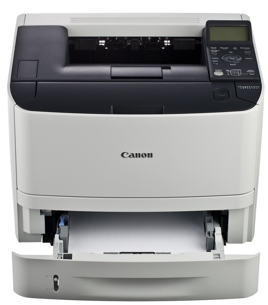 The LBP6670dn offers a large paper handling of up to 250 pages in a