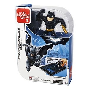 Apptivity The Dark Knight Rises Grapnel Attack Batman