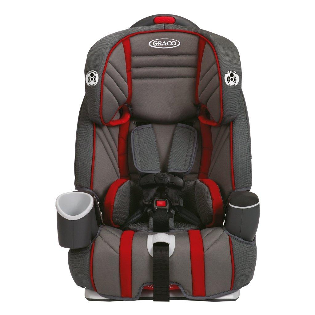 Garnet Nautilus  In  Car Seat