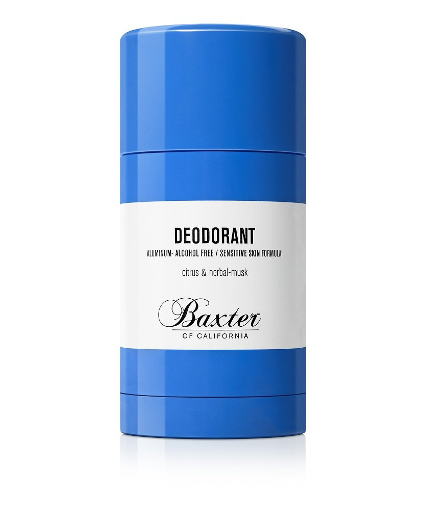 Baxter of california citrus and herbal musk for Men s antiperspirant that doesn t stain shirts