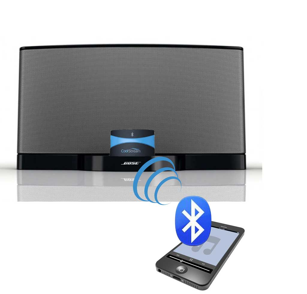 coolstream bluetooth receiver for iphone dock. Black Bedroom Furniture Sets. Home Design Ideas