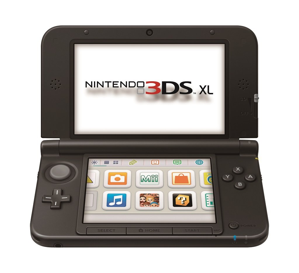 nintendo 3ds xl blue black video games. Black Bedroom Furniture Sets. Home Design Ideas