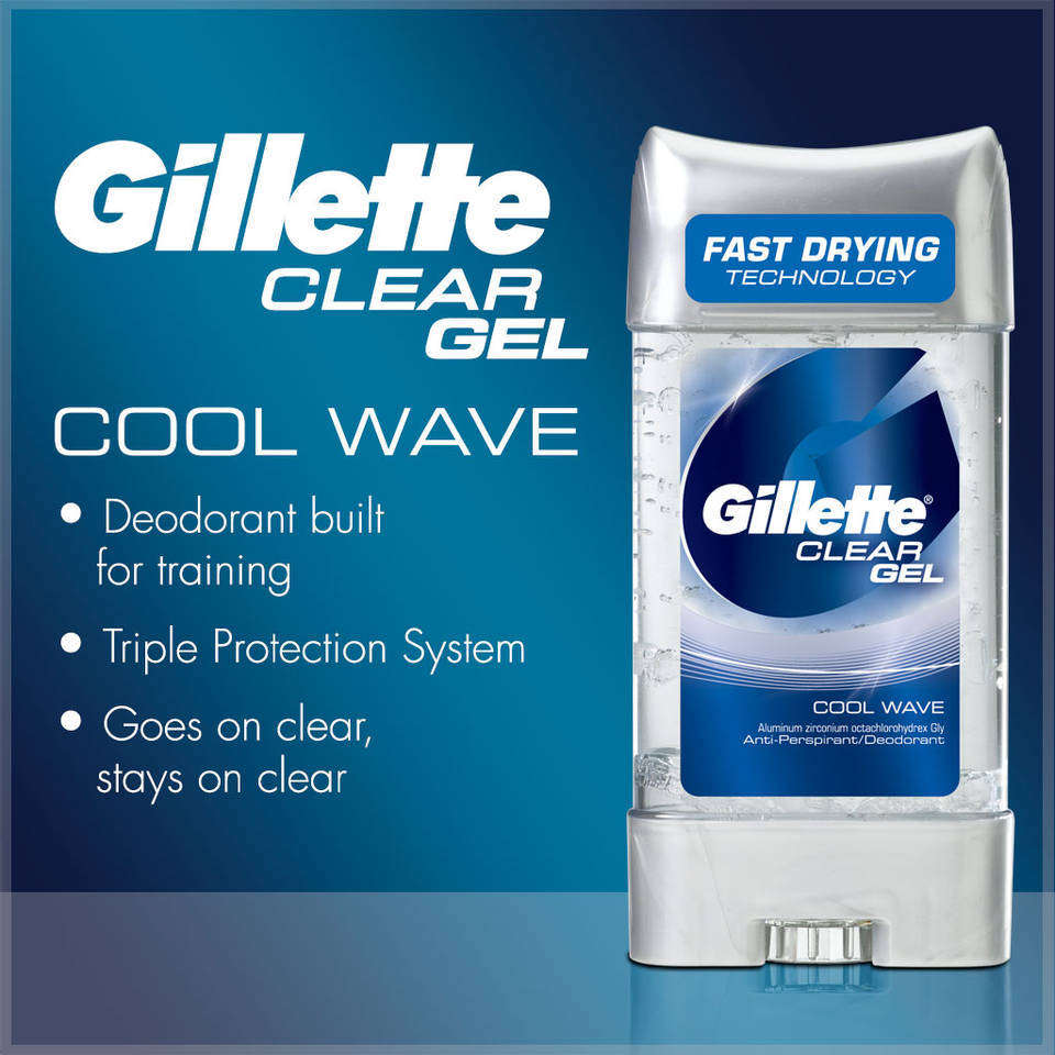 Amazon.com : Clear Gel Cool Wave Antiperspirant and ...