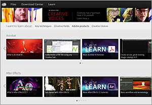 Extensive library of video tutorials