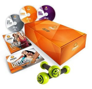 Zumba Gold LIVE IT UP DVD Set