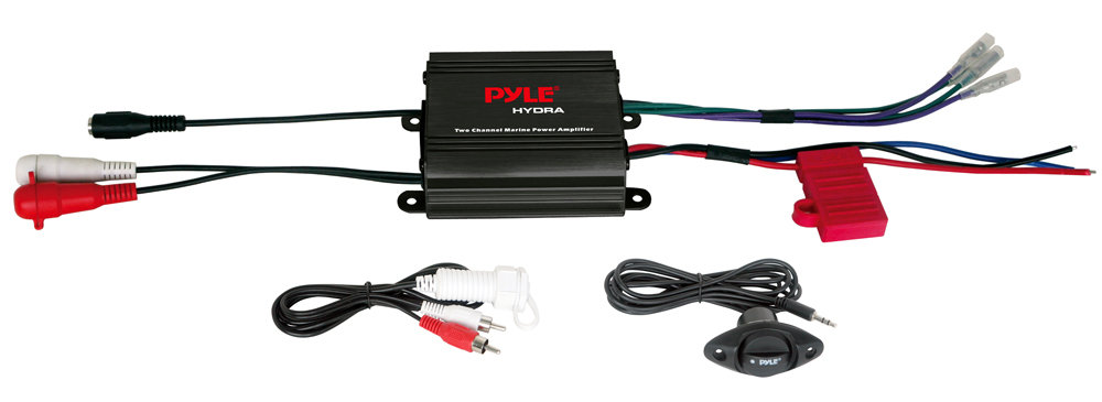 Amazon Com  Pyle Plmrmp1b 2 Channel 400 Watt Waterproof