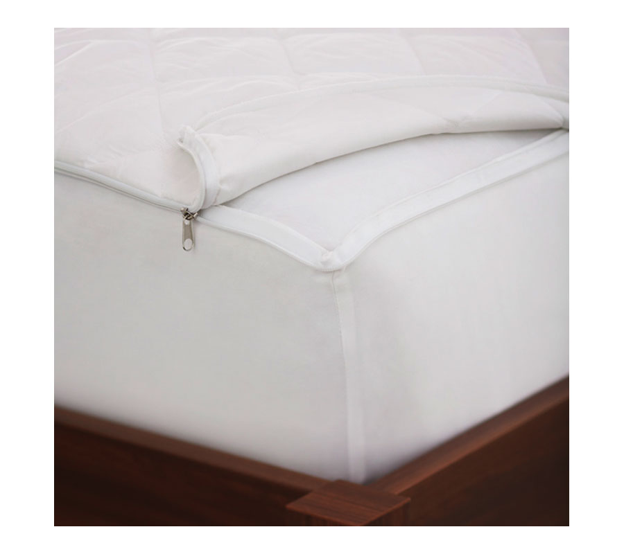 Zipper Up Cover For Beds