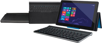 Logitech Tablet Keyboard for Windows 8, Windows RT, and Android 3.0+