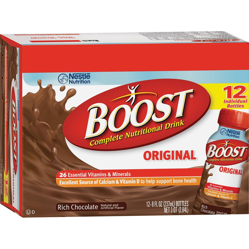 Amazon Com Boost Original Complete Nutritional Drink: Amazon.com : Boost Original Chocolate Ready To Drink, 8 Oz