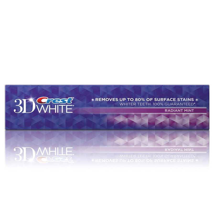 Crest Toothpaste 3d White Radiant Mint