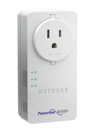 Powerline 500 Nano PassThru 2-Port