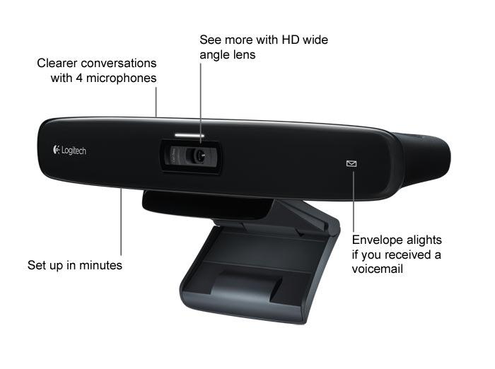 : Logitech 960-000921 TV Cam HD for Skype Calls on HDTVs: Electronics