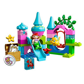 Includes two LEGO DUPLO figures: Ariel and Flounder.