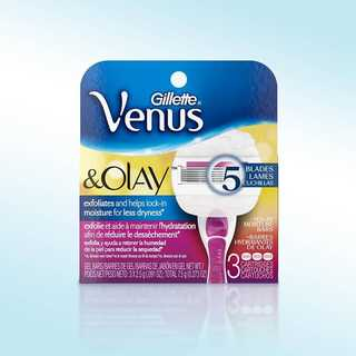 Venus Olay and Sugarberry ShowerSafe Razor Cartridges