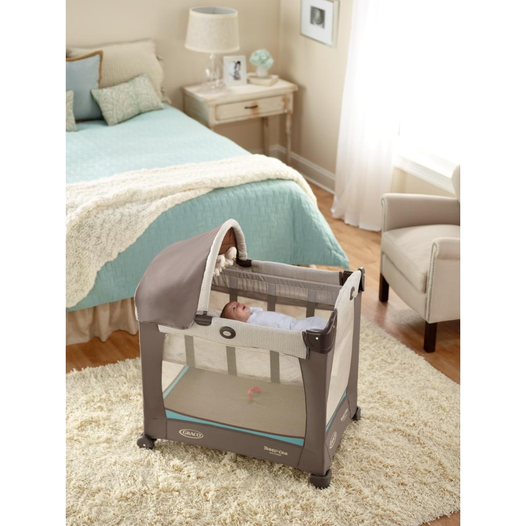 Amazon Com Graco Travel Lite Crib With Stages Peyton