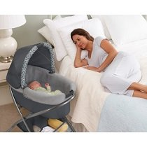 graco bedroom bassinet. keep baby close to you overnight with the bedroom bassinet (folding stand + portable together). view larger graco a