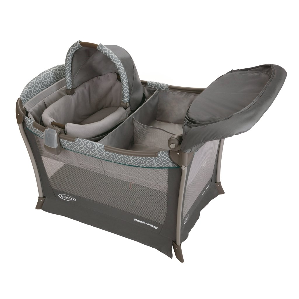 baby portable bassinet playyard infant nursery folding sleep bed  - folding sleep solution