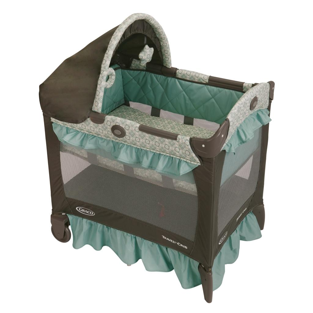 Graco travel lite crib winslet bassinet baby - Best baby cribs for small spaces set ...