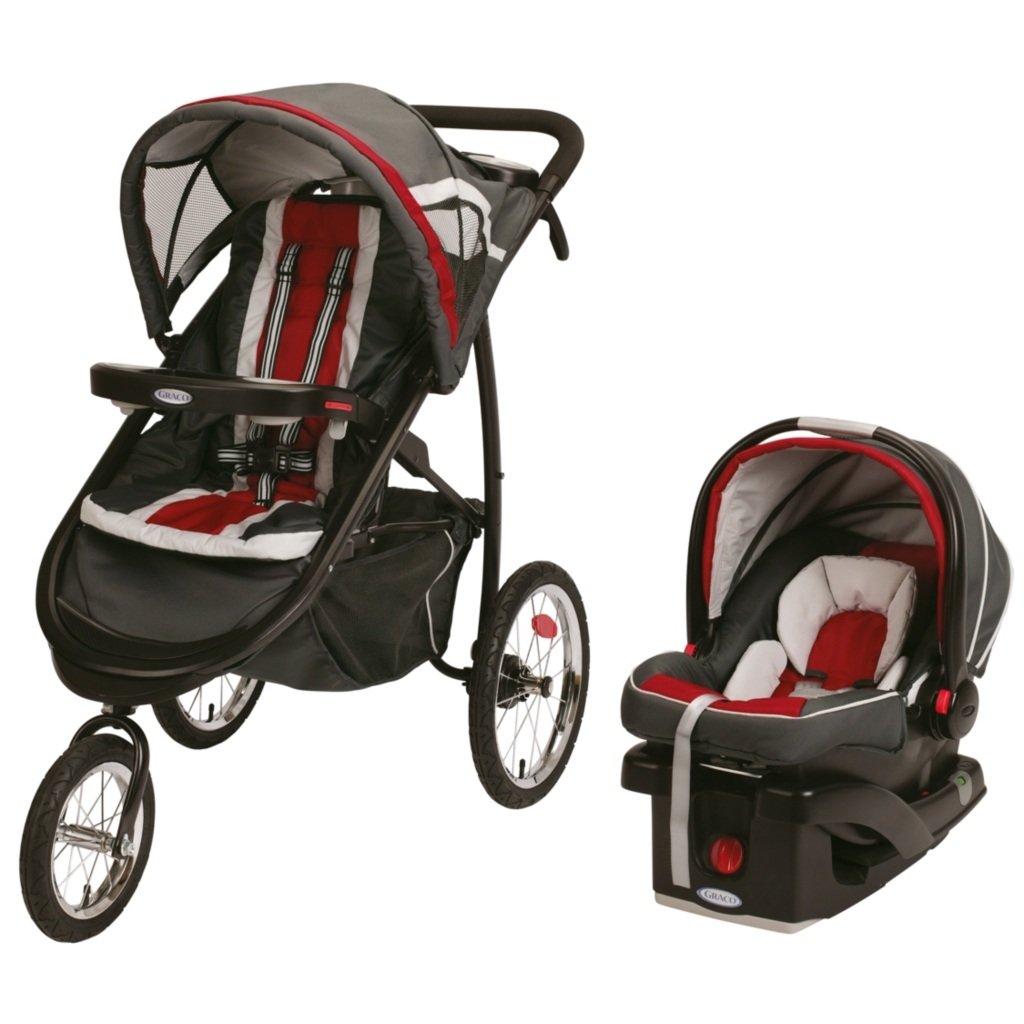 Amazon.com : Graco FastAction Fold Jogger Click Connect Travel System