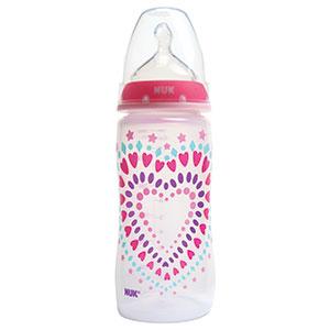 Pink nuk bottles