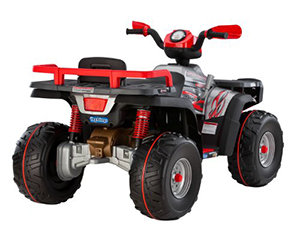 Cruise at 3.5 to 7 mph on grass, dirt, or hard terrain.