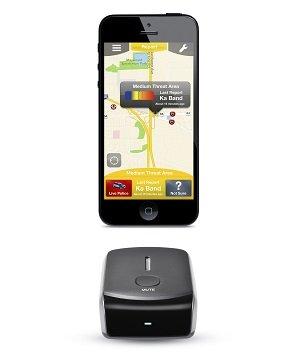 iRadar detector Home Screen