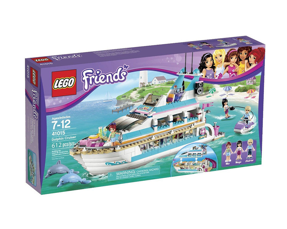 LEGO Friends Dolphin Cruise Liner Ocean Adventure 3 Mini