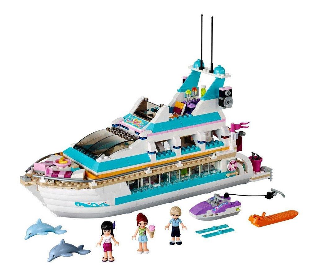 All Lego Toys : Amazon lego friends dolphin cruiser toys games