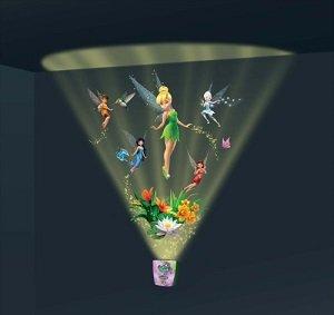 Luz y sonidos sincronizados traer escenas de la vida.