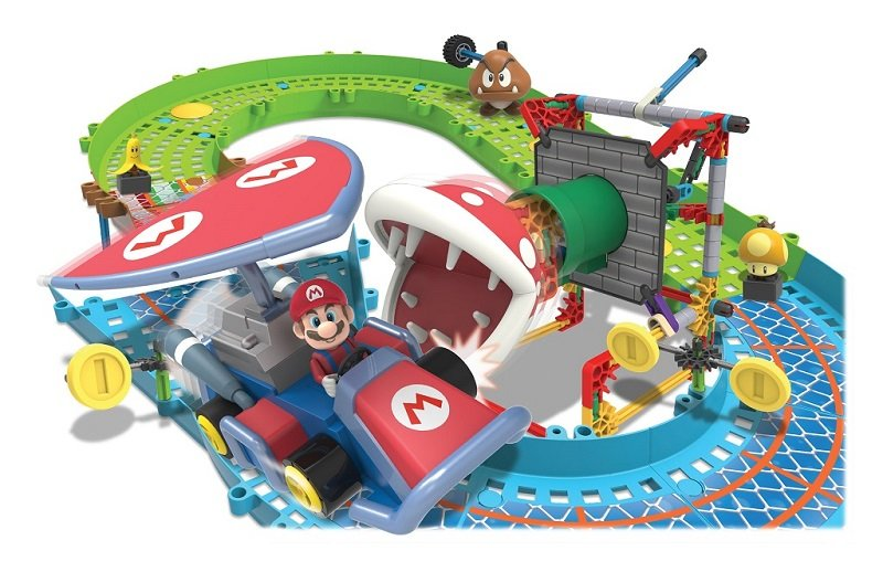 NEX Nintendo Mario Kart 7 Piranha Plant Slide Track Set