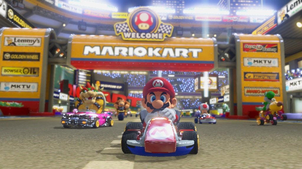 mario kart 8 nintendo wii u video games. Black Bedroom Furniture Sets. Home Design Ideas