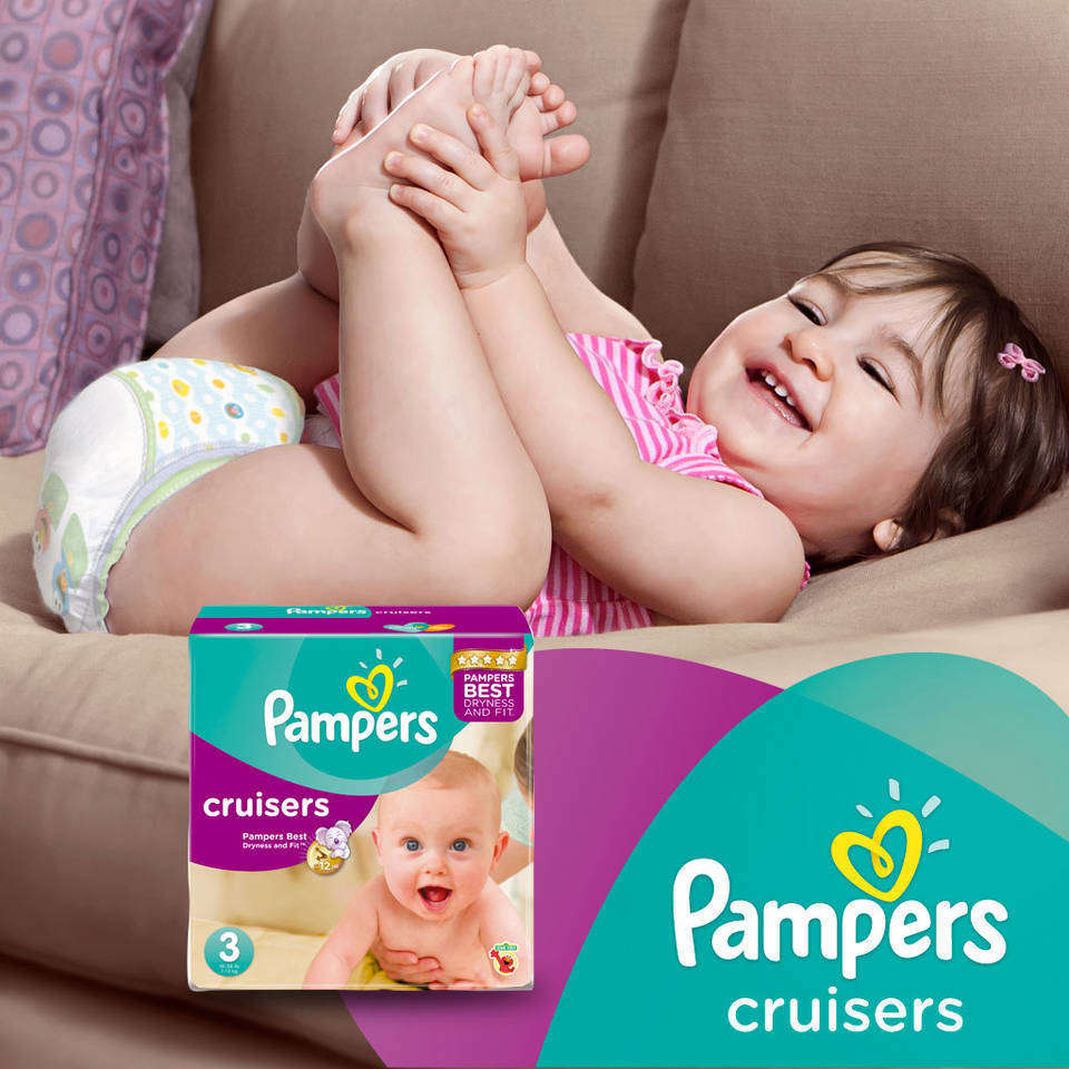 Amazon.com: Pampers Cruisers Diapers Economy Plus Pack, Size 4, 152