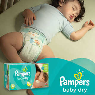 Amazon.com: Pampers Baby Dry Size 4 Giant Pack, 128 Count: Health