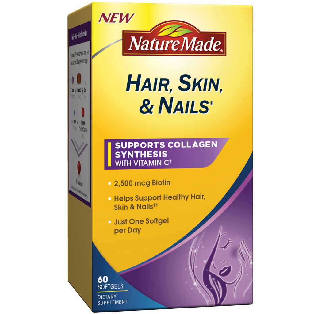 Amazon.com: Nature Made Hair, Skin, Nails with Biotin ...